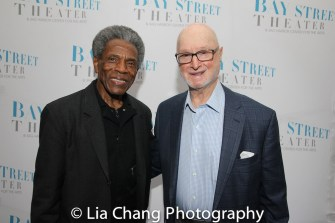 André De Shields and Jules Feiffer. Photo by Lia Chang