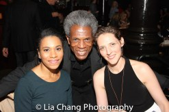 Kelly McCreary, André De Shields and Julia Motyka. Photo by Lia Chang
