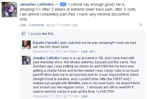 Chronic Pain Review of Dr. Zachary Ward