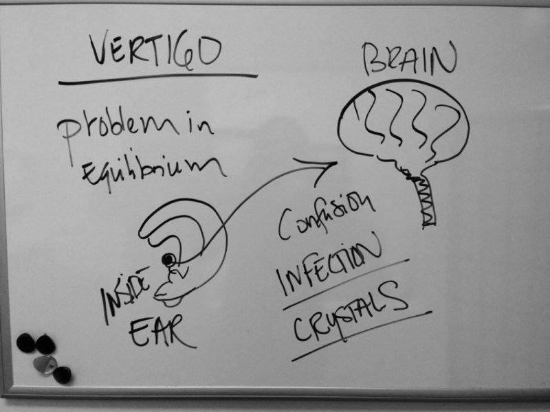 Inner ear problem leads to vertigo