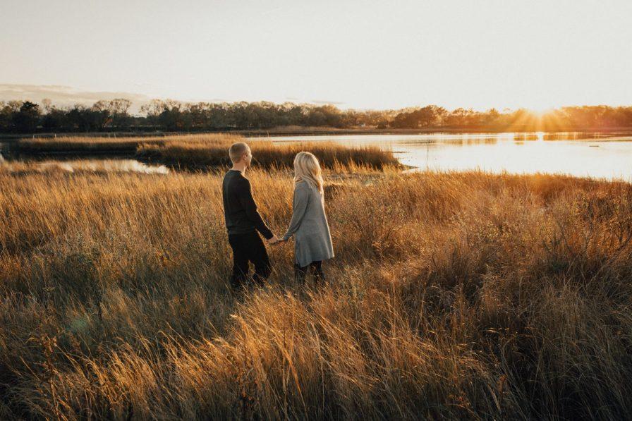 sunset-engagement-session