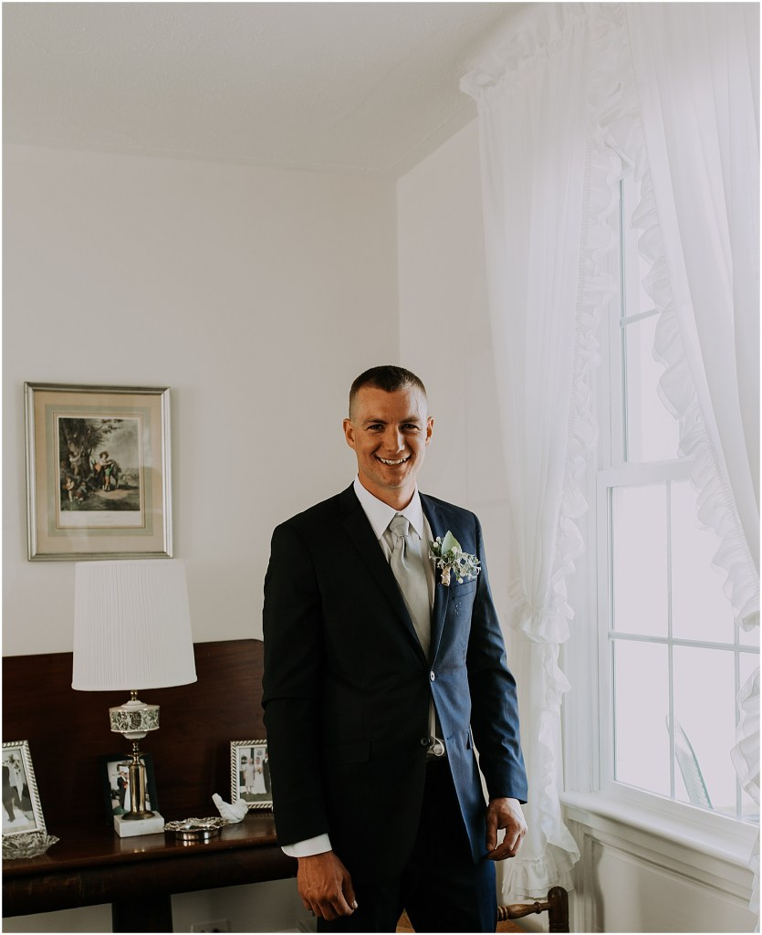 Private Estate Wedding in Virginia Wedding Photographer Groom Prep