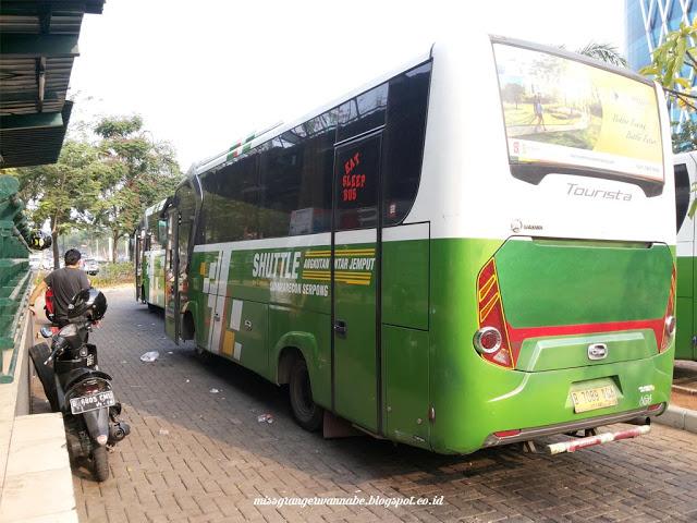 summarecon, serpong, kelapa gading, bus, shuttle bus