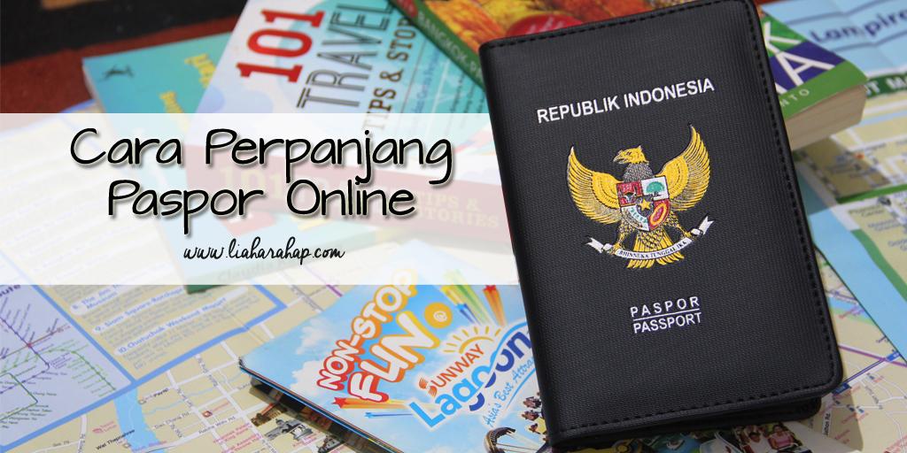 Mudahnya Perpanjang Paspor Secara Online
