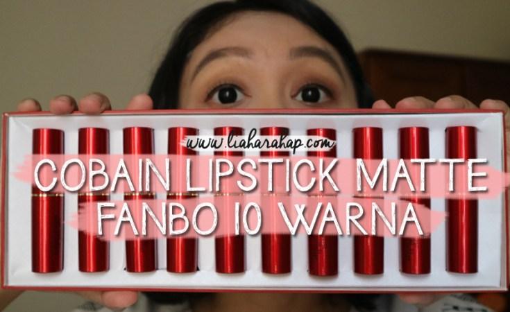 Fanbo Matte Lipstick