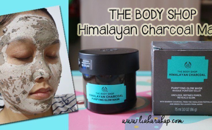 The Body Shop Himalayan Charcoal Mask