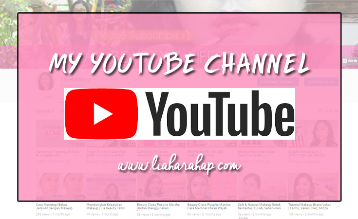 YouTube Channel Lia Harahap