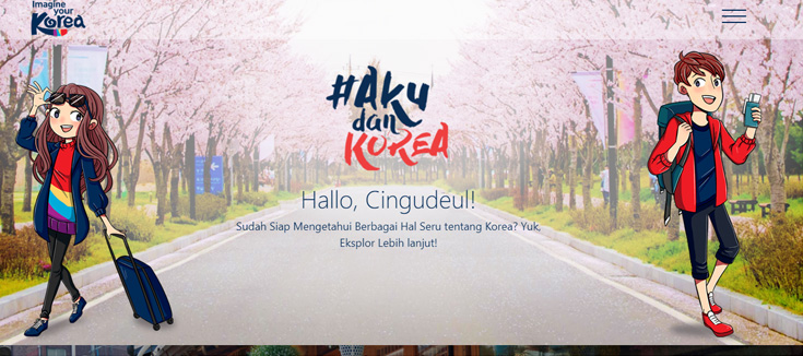 Aku Dan Korea Website