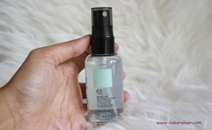 The Body Shop Makeup Setting Spray
