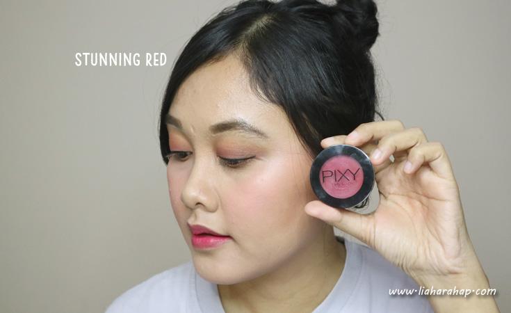 PIXY Twin Blush Stunning Red