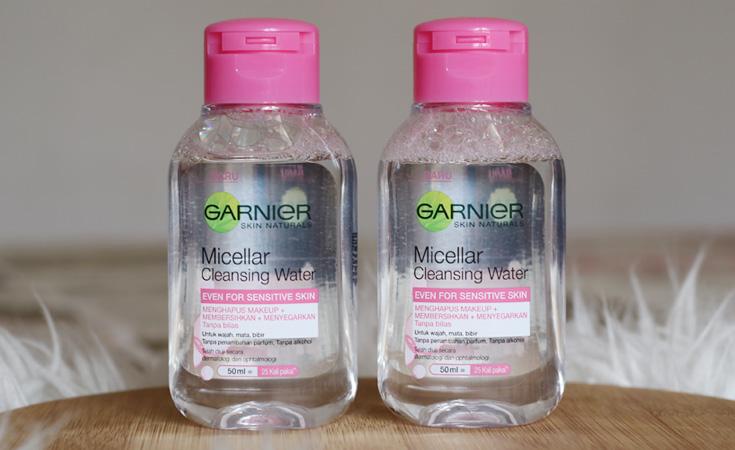 garnier micellar water mini size