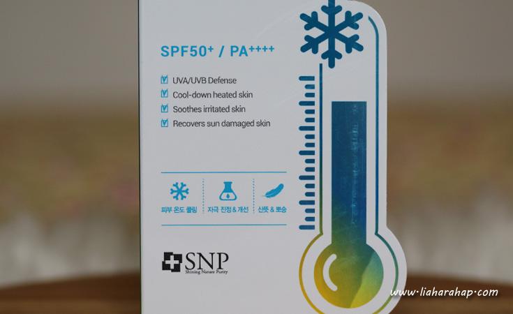 review sunscreen snp