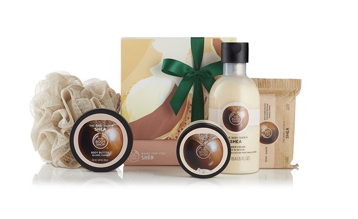 gift set the body shop