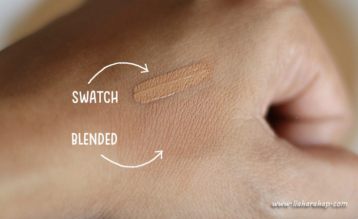 wardah instaperfect concealer swatch
