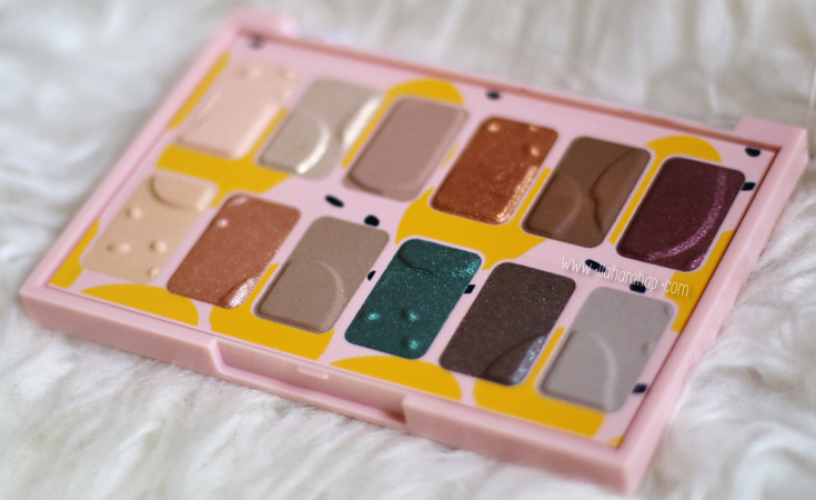 the body shop eye palette