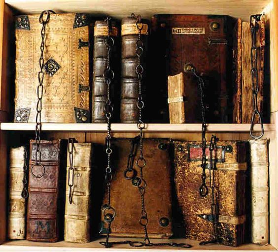 Chained books