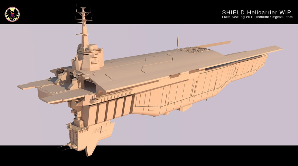 Project - S.H.I.E.L.D. Helicarrier (2010-Current) (3/6)