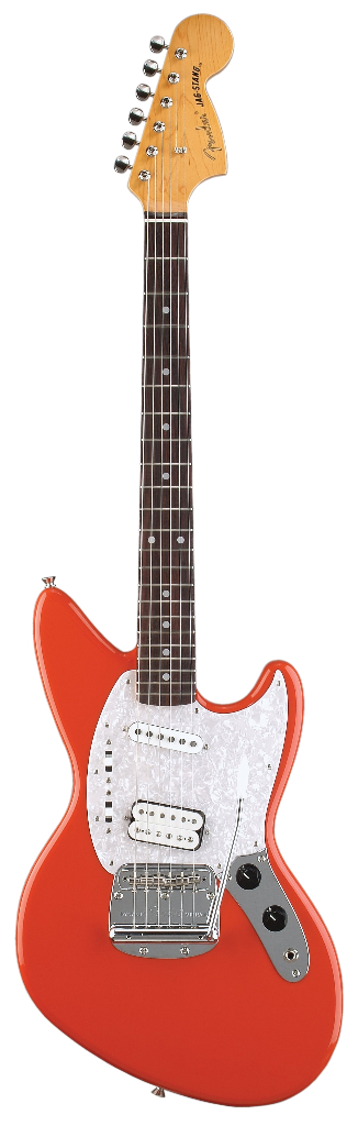 1994 Fender Jag Stang as designed played by Kurt Cobain, hybrid of the Jaguar and the Mustang.