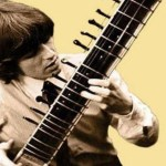 Psychedelic guitar solos with exotic scales