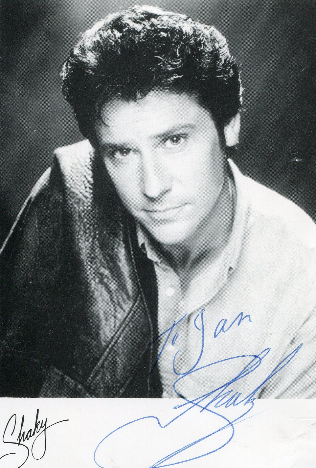 shakin stevens archives   movies amp autographed portraits through the decadesmovies amp autographed