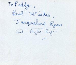 Jacqueline Ryan & Phyllis Ryan