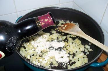 Merluza en salsa de jerez