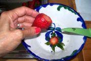 Salmorejo de fresas
