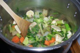 Pure de verduras