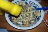 mayonesa y mostaza