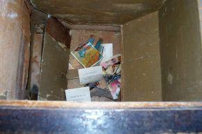 reciclado de un mueble antiguo