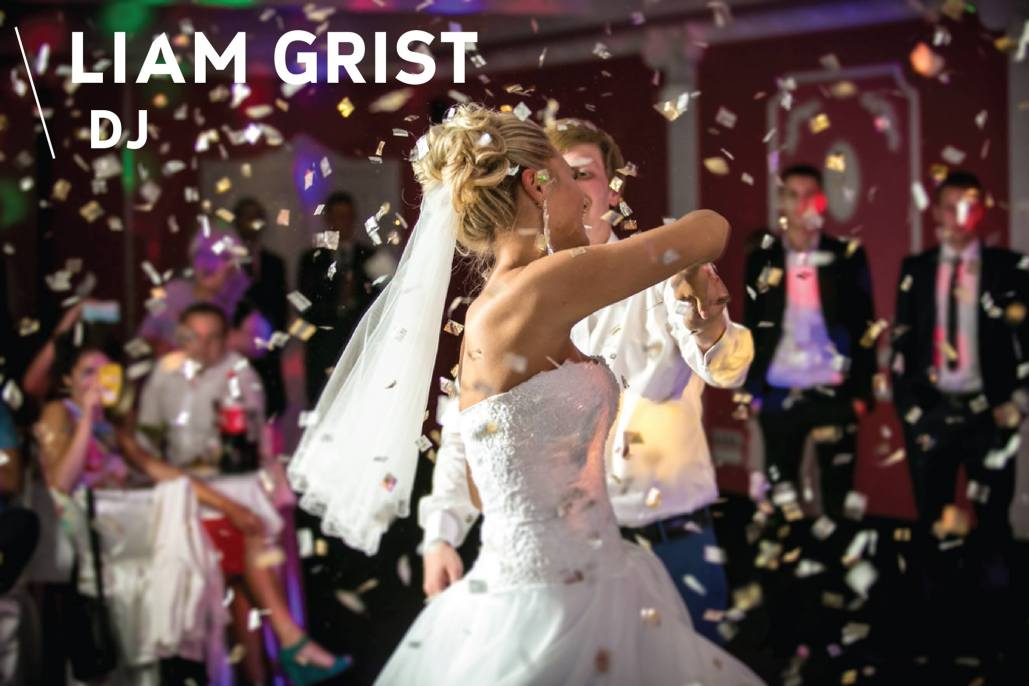 Wedding Couple DJ Liam Grist
