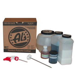 Al's Liner ALS-BL Black Premium DIY Polyurethane Spray-On Truck Bed Liner Review
