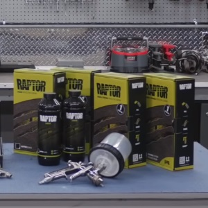 U-Pol Raptor Black Urethane Spray-On Truck Bed Liner Kit Review