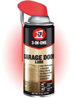 3-IN-ONE Professional Garage Door Lubricant Review
