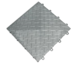 RaceDeck Diamond Plate Design Tiles Review