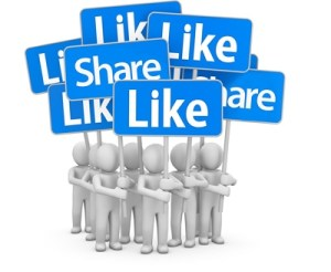 Clicks & Likes vs. Sharing