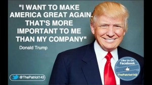 Donald J Trump's Reason Why - To Make America Great Again