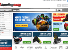 Site review of BowlingBalls.com 10
