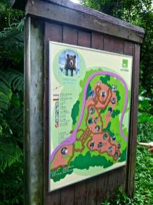 Taipei Zoo map