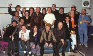 David Bowie's 50th birthday party