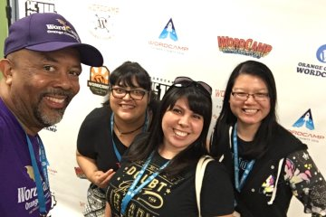 WordCamp OC 2018 with Joe Simpson and GDIOC's Lorena and Michelle!