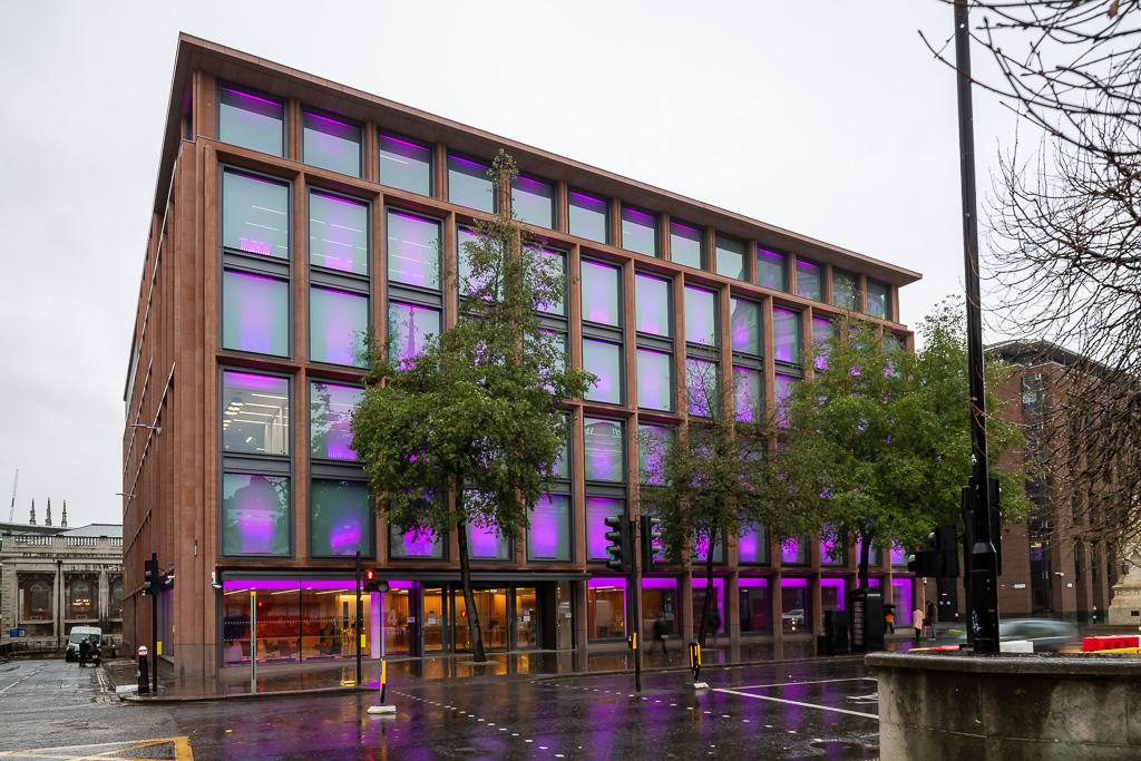 Architectural photography of Fidelity Building In Canon Street