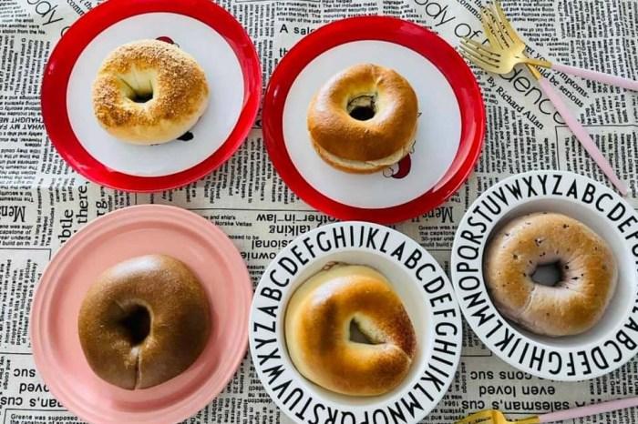 新口味上市!! 查理布朗貝果+超濃明太子麵包。好吃到讓你一顆接著一顆