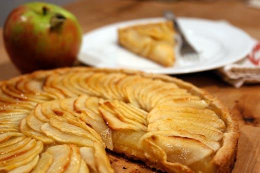 家常式普羅旺斯蘋果派tarte-aux-pomme