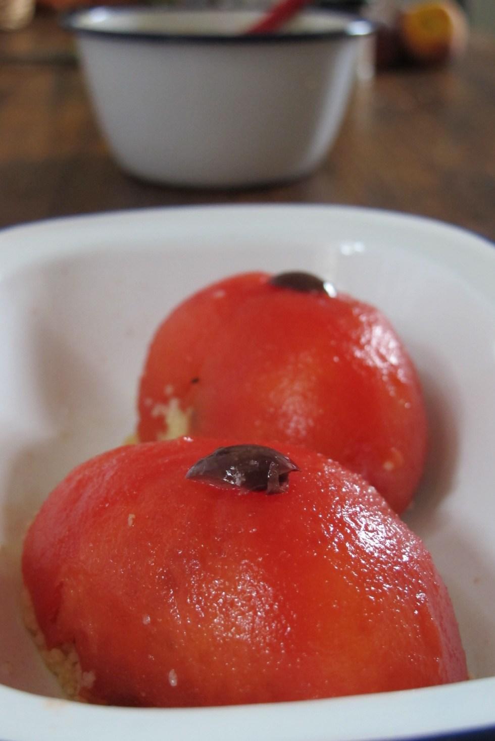 蔬菜番茄釀小米