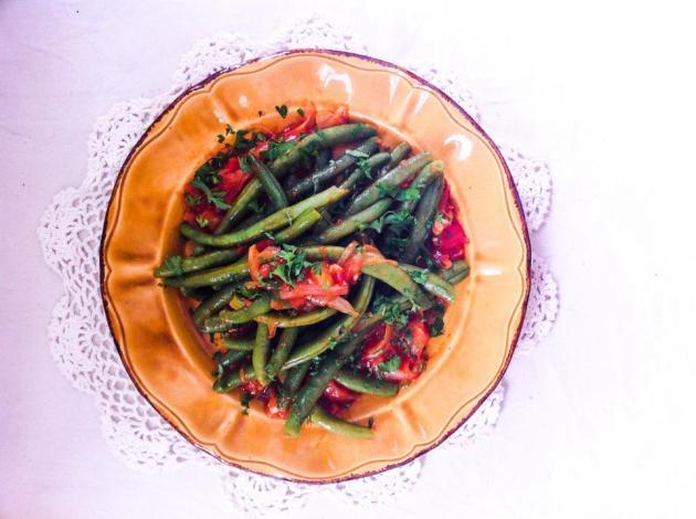 法國創意家常料理-四季豆番茄風味溫莎拉-2