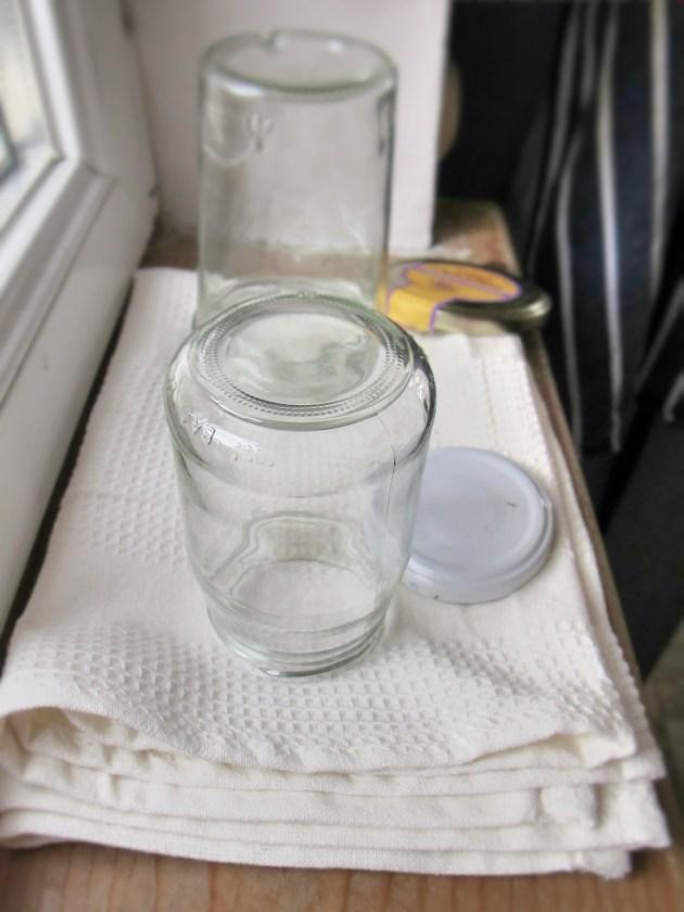 雙野莓果醬-瓶子消毒