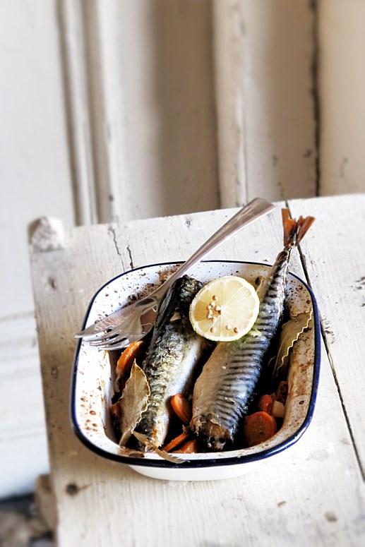 第戎傳統芥末白酒鯖魚