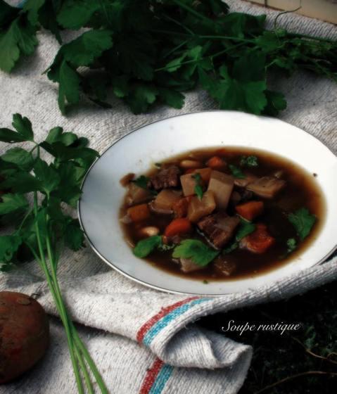 法國家常料理-鄉村湯Soupe Rustique-2