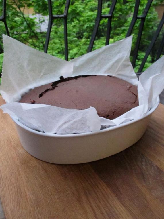 低脂無奶油的巧克力蛋糕-2